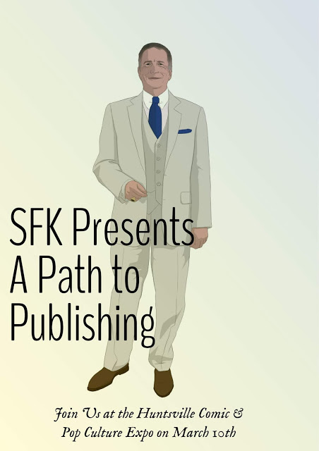SFK Press Presents 'A Path to Publishing' Panel at Huntsville Comic & Pop Culture Expo