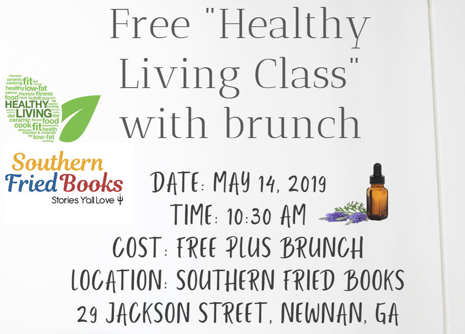 Southern Fried Books Hosting Free Healthy Living Class on May 14