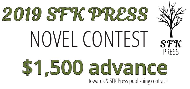 Last Days to Submit to 2019 SFK Novel Contest